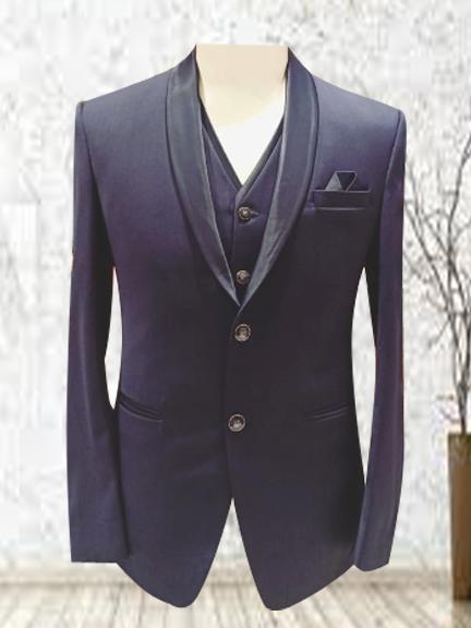 BLUE FORMAL vest coat