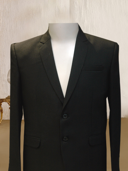 BLACK MINIMET 2 PS FORMAL SUIT