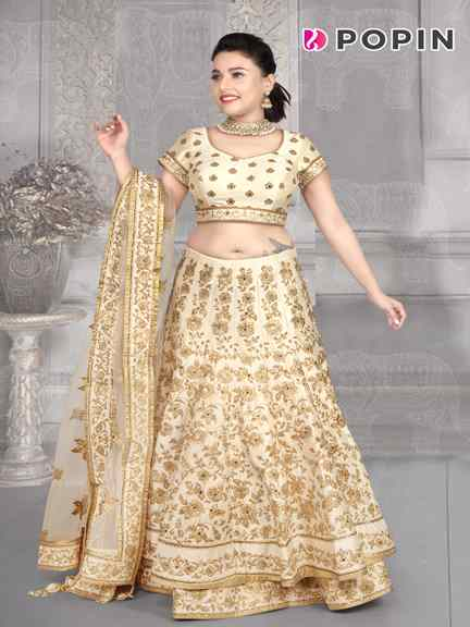 OFF WHITE THREE LAYER CHANIA CHOLI