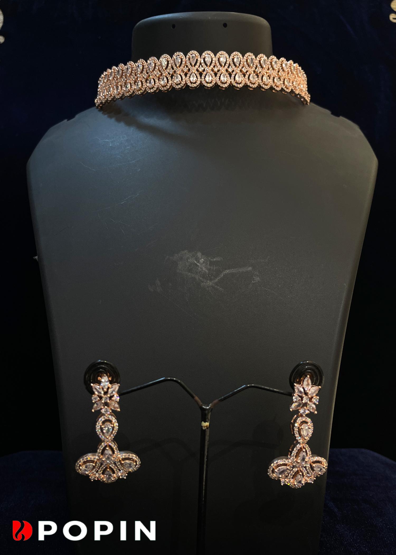 GOLD WITH MARUN BEAT SET