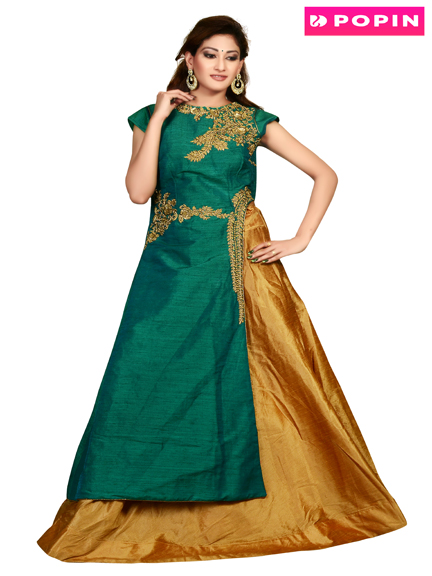 GREEN INDOWESTERN GOLD CHANIA