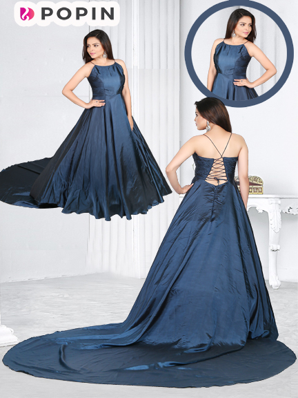 T BLUE TAIL PRE WEDDING GOWN