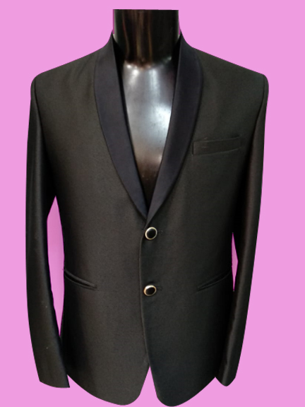 BLACK FORMAL TUXEDO SUIT